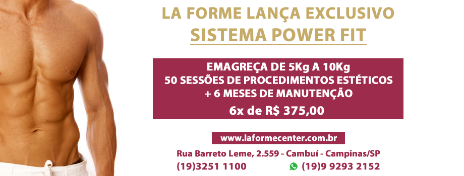 Power Fit Masculino